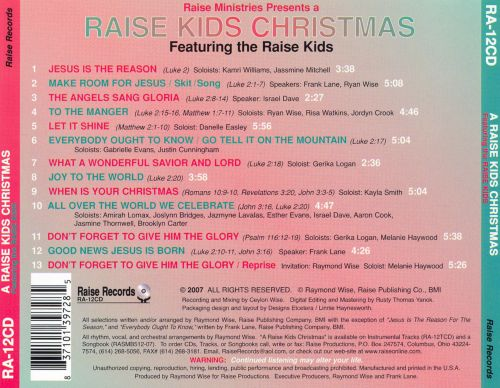 A Raise Kids Christmas