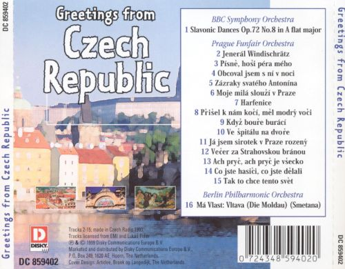 Greetings from the Czech Republic