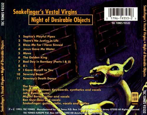 Night of Desirable Objects