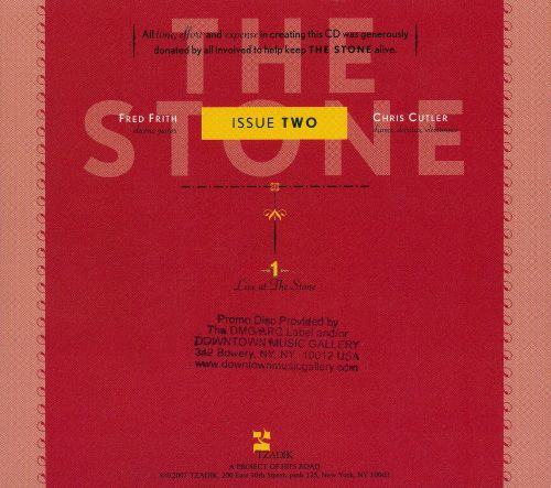 The Stone: Issue Two