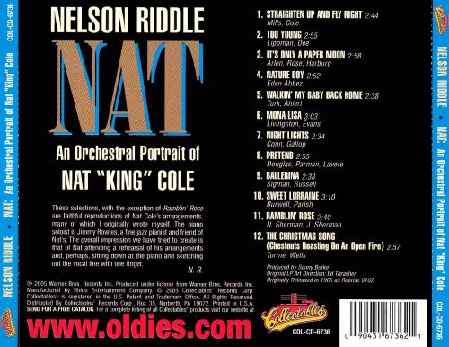 An Orchestral Portrait of Nat King Cole