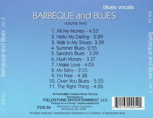 Barbecue and Blues, Vol. 2
