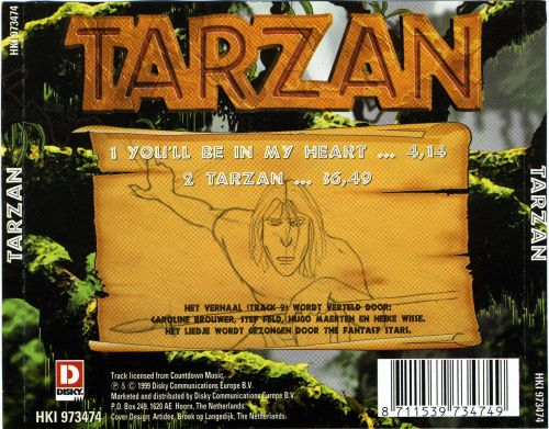Tarzan [Dutch Version]