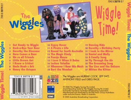 wiggle time the wiggles songs reviews credits allmusic