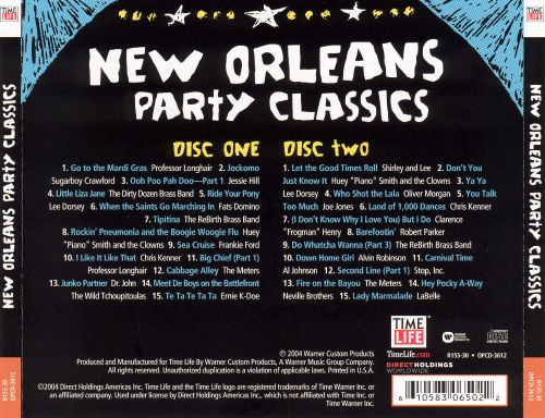 New Orleans Party Classics [Time Life]