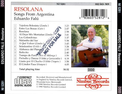 Resolana: Songs from Argentina