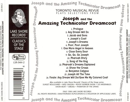 Joseph and the Amazing Technicolor Dreamcoat [Highlights]
