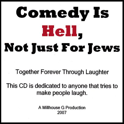 Comedy Is Hell