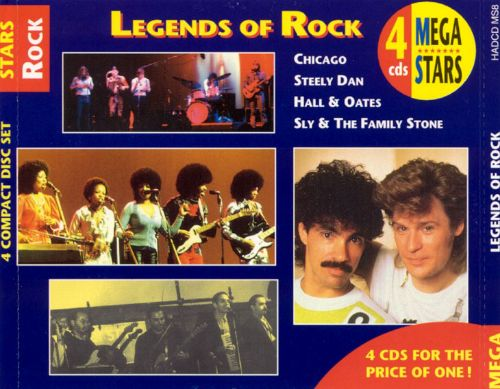 Legends of Rock [Mega Stars]