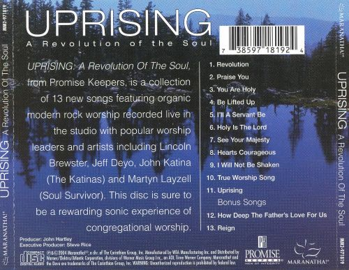 Uprising: A Revolution of the Soul