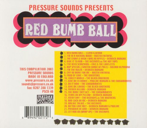 Various - Red Bumb Ball - Rare And Unreleased Rocksteady 1966 - 1968