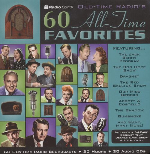 Old Time Radio: 60 All Time Favorites