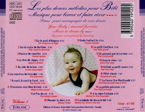 Your Baby's Musical Favorites, Vol. 1