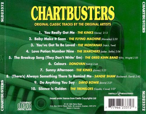 Chartbusters [Prime Cuts]
