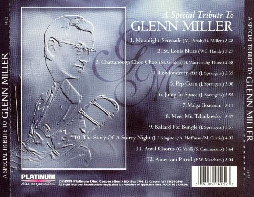 A Special Tribute to Glenn Miller, Vol. 2
