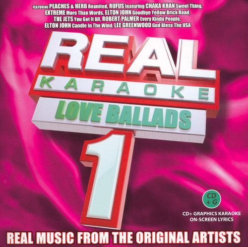 Real Karaoke: Love Songs, Vol. 1