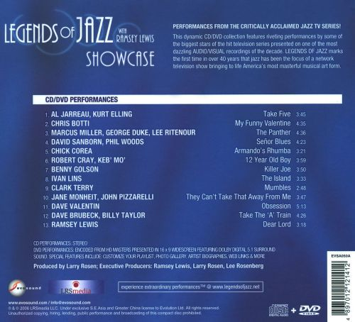 Legends of Jazz Showcase