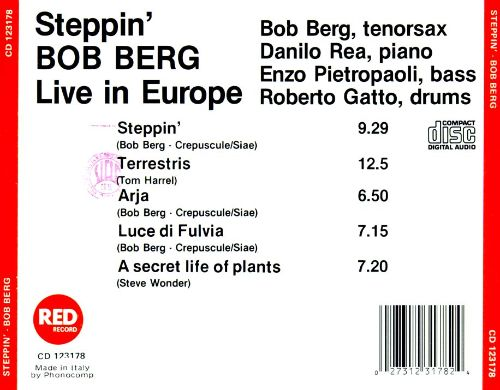 Steppin': Live in Europe