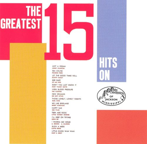 15 Greatest Hits On Ace Records (Edsel)