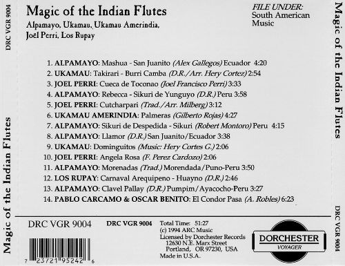 Magic of the Indian Flutes