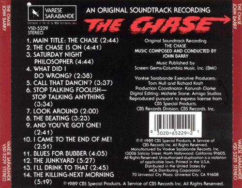 The Chase (Original Sound Track Recording)