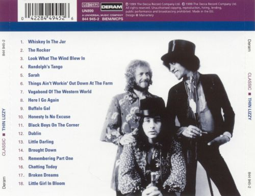 Classic Thin Lizzy: The Universal Master Collection