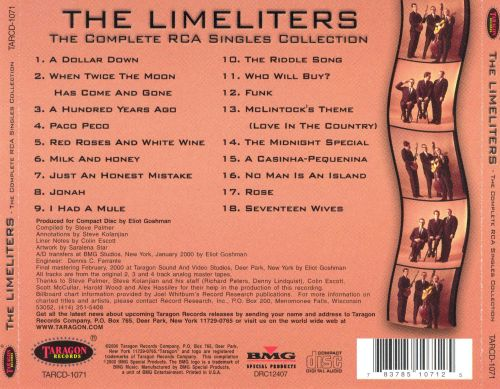 The Complete RCA Singles Collection