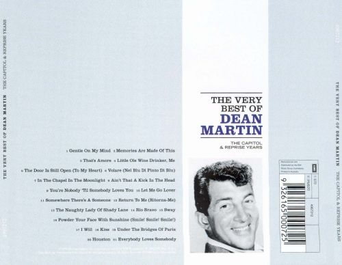 The Very Best of Dean Martin: The Capitol & Reprise Years [1998]