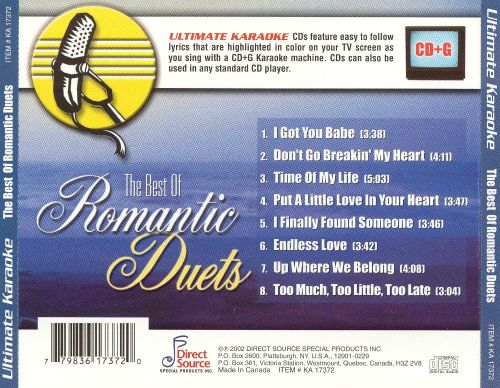 Karaoke: The Best of Romantic Duets