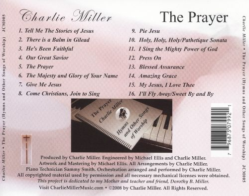 The Prayer (Hymns and Other Songs of Worship)