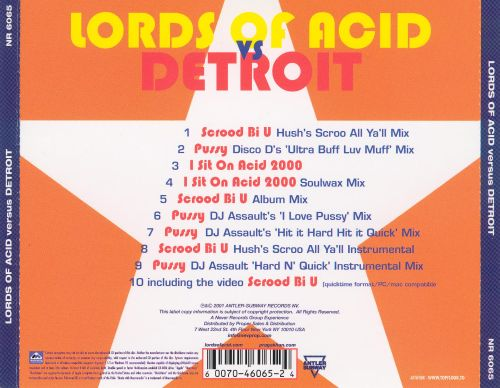 The Lords of Acid Vs. Detroit
