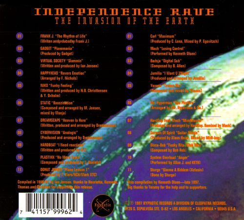 Independence Rave: The Invasion of the Earth