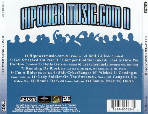 Hipowermusic.com, Vol. II