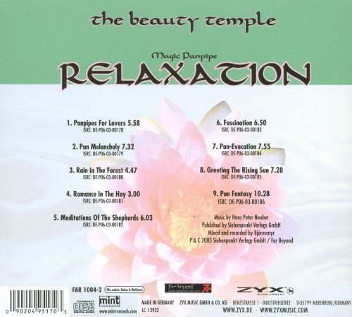 The Beauty Temple: Relaxation