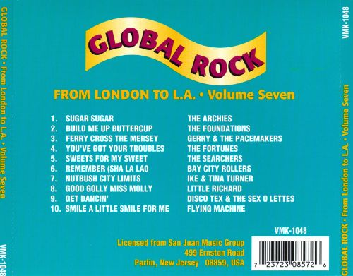 Global Rock, Vol. 7: From London to L.A.