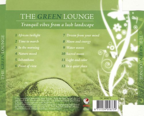 The Green Lounge: Tranquil Vibes from a Lush Landscape
