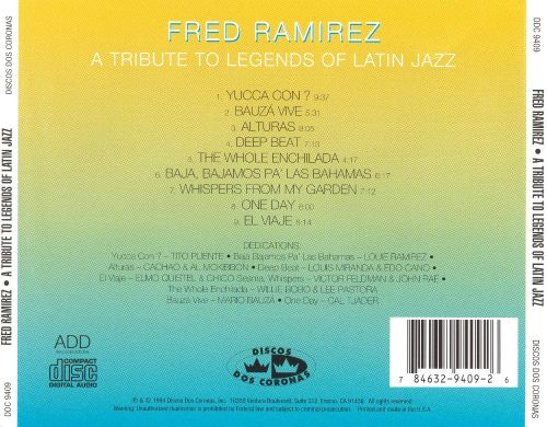 A Tribute to Legends of Latin Jazz
