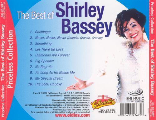 Best of Shirley Bassey [Collectables]