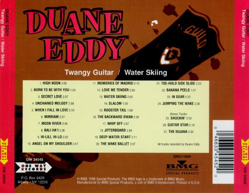 Twangy Guitar, Silky Strings/Water Skiing