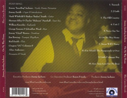 On My Way Home!: A Tribute to Cannonball Adderley and Nancy Wilson
