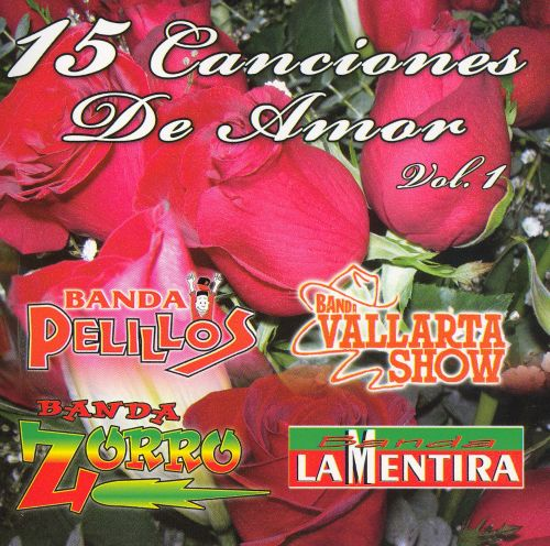 15 Canciones de Amor, Vol. 1
