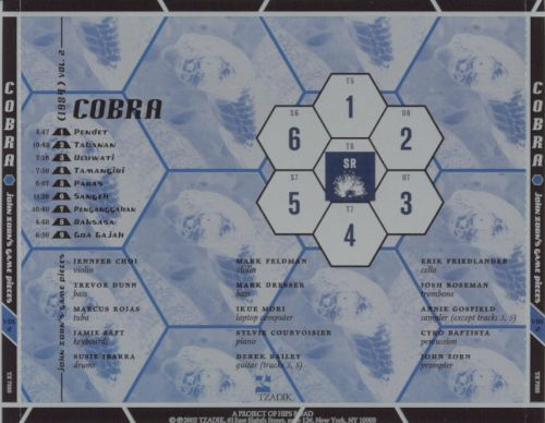 Cobra: John Zorn's Game Pieces, Vol. 2 [Tzadik]