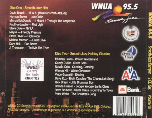WNUA 95.5: Smooth Jazz Sampler, Vol. 16