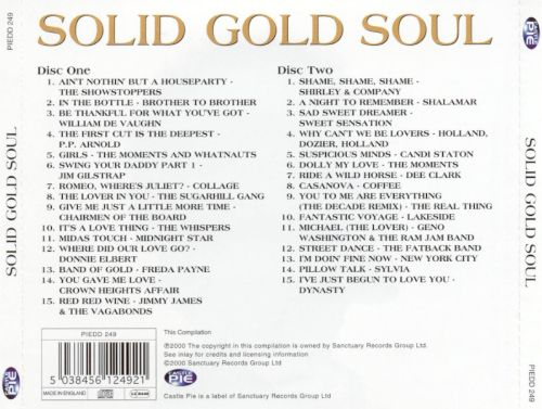 Various - Solid Gold Soul Hits