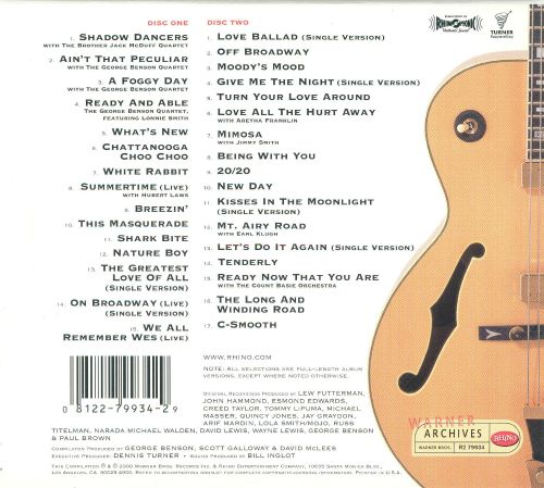 The George Benson Anthology