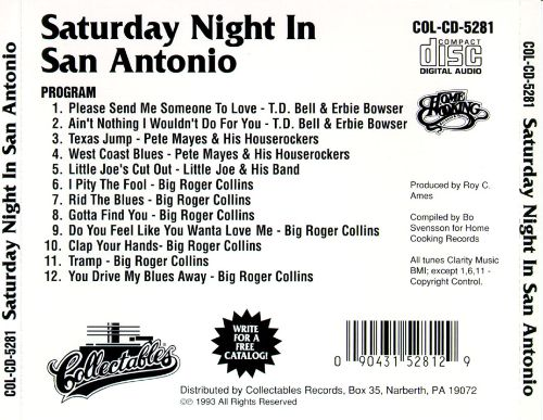 Saturday Night in San Antonio