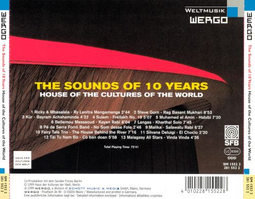 Sounds of 10 Years: House of the Cultures of the World