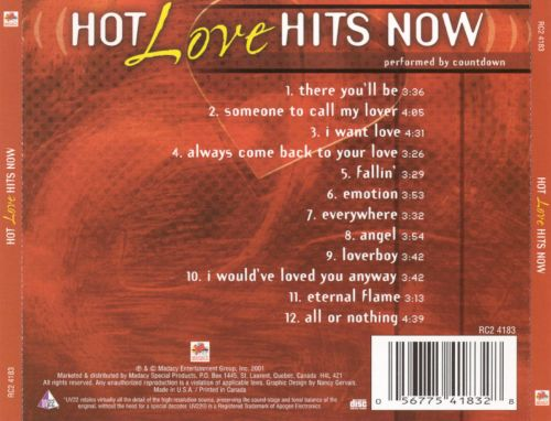 Hot Love Hits Now
