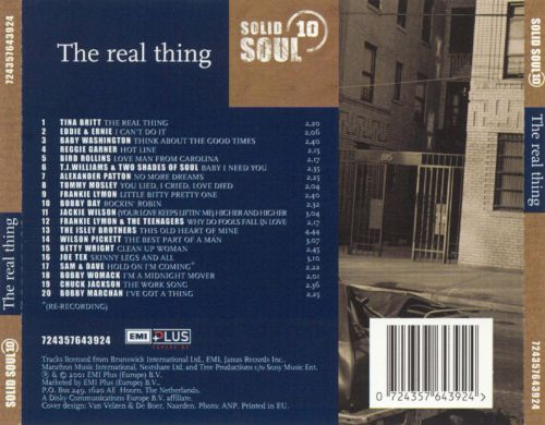 Solid Soul, Vol. 10: The Real Thing