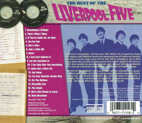 Best of the Liverpool Five